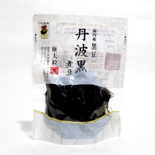 国内産丹波黒煮豆 100g 3L スタンドパック