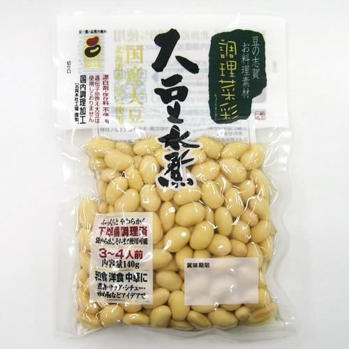 調理菜彩 大豆水煮 140g