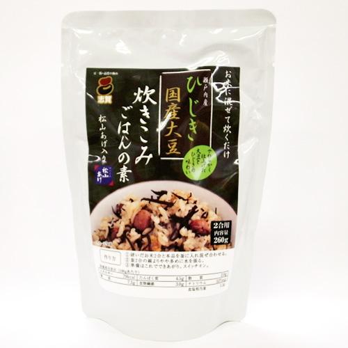 ひじきと大豆の炊きこみごはんの素 2合用