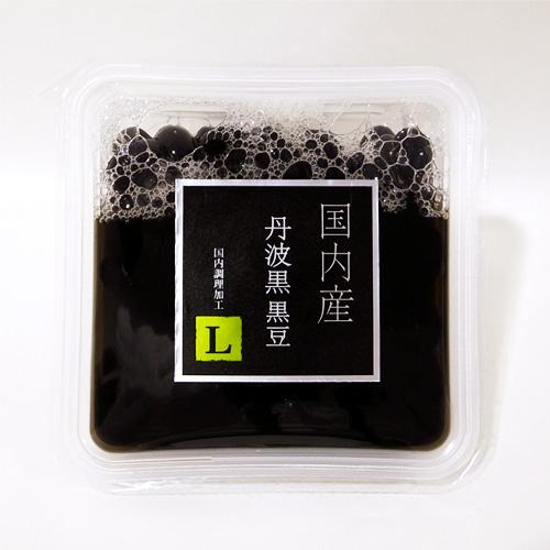 レトカップ 国内産丹波黒黒豆 120g L(醤油入)
