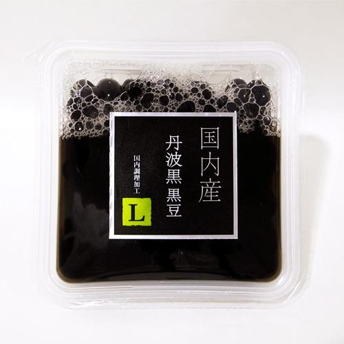 レトカップ 国内産丹波黒黒豆 120g L(醤油無)