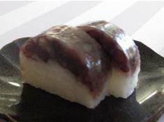 石田シェフ風・小豆とご飯の二色羊羹