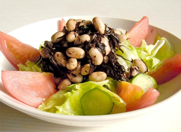 ひじき大豆水煮のサラダ