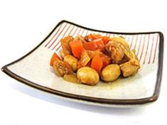 大豆のケッチャップ煮